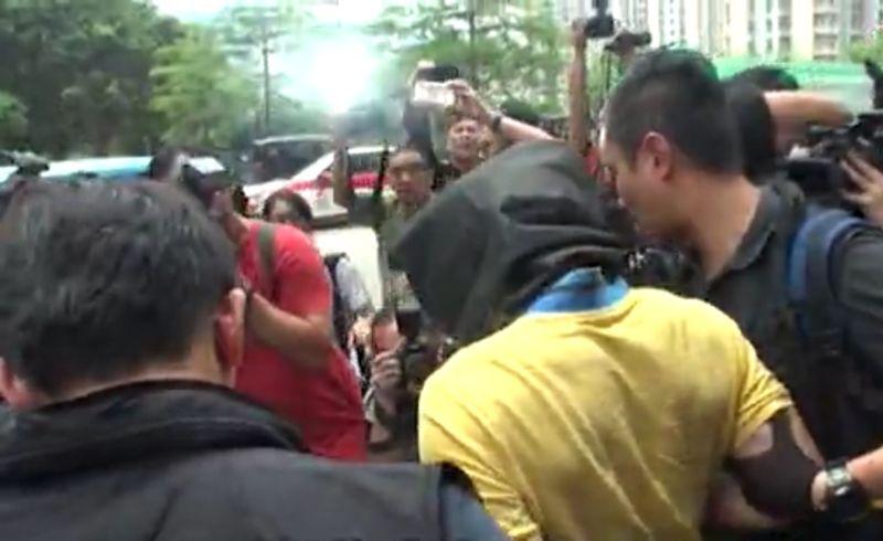 Apple Daily screenshot kowloon bay rape robbery suspect