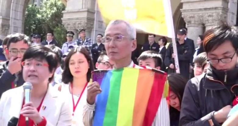 Gay rights activist Chi Chia-wei taiwan