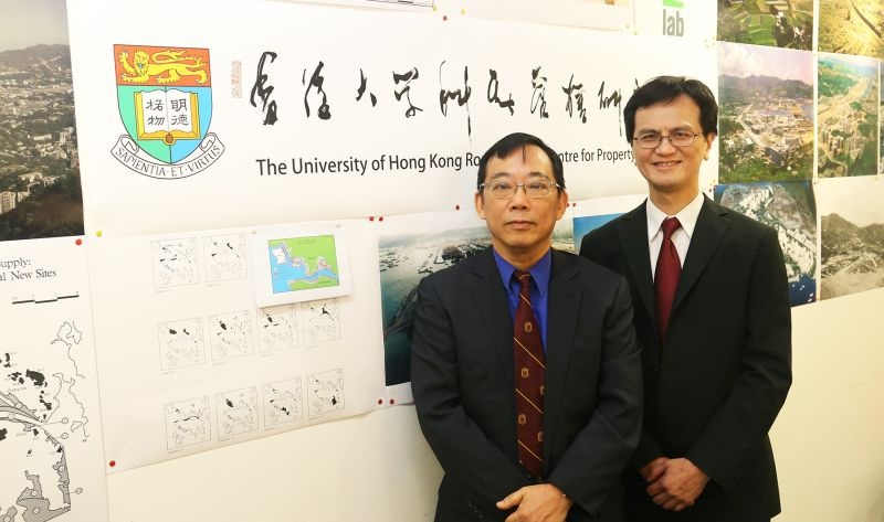 Chau Kwong-wing Lawrence Lai Wai-chung HKU University of Hong Kong professor real estate construction
