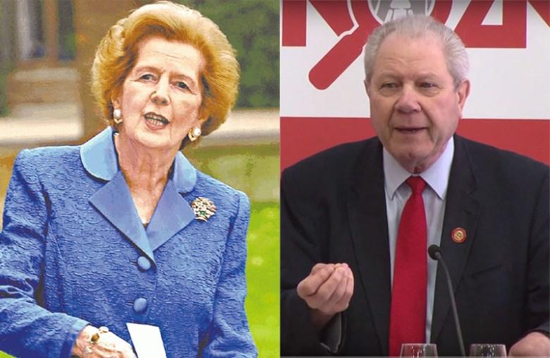 Margaret Thatcher Jim Sillers
