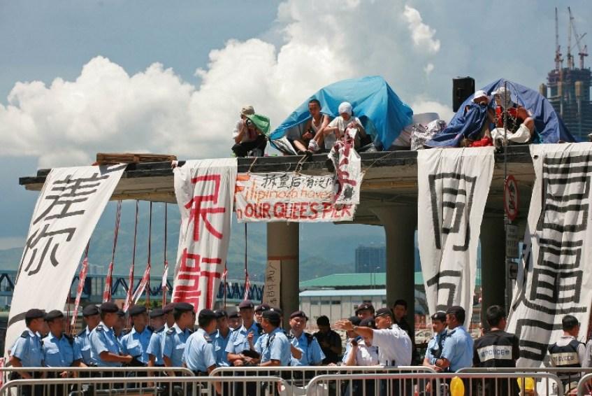 hong kong queen's pier