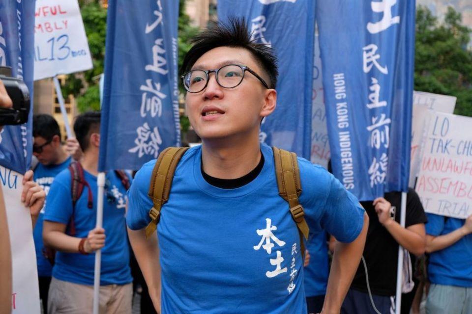 edward leung political prisoner occupy activist protest rally democracy