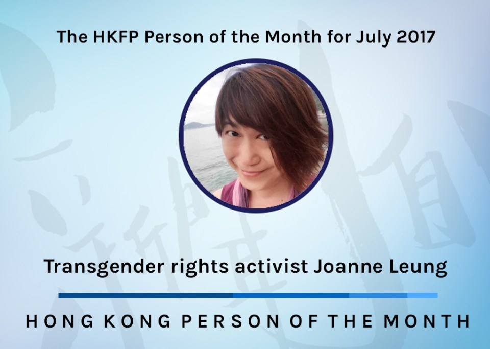 person of the month - joanne leung