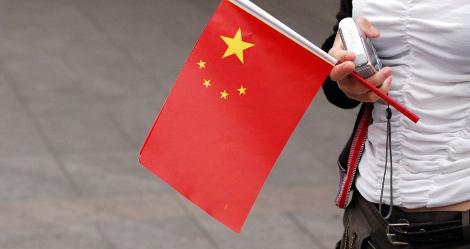 chinese china flag