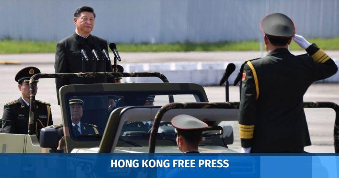 military xi jinping pla