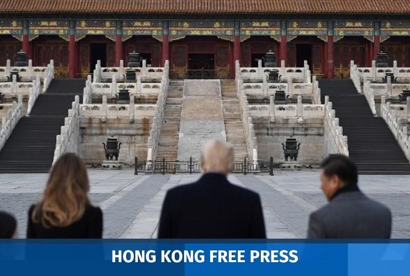 donald trump xi jinping in china
