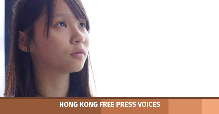 agnes chow democracy demosisto hong kong