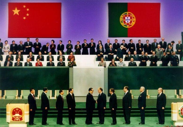 Macau Handover ceremony