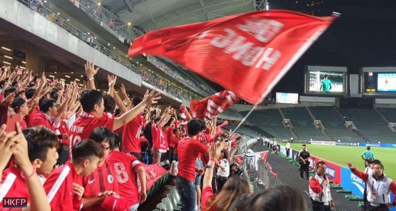 football booing national anthem hong kong