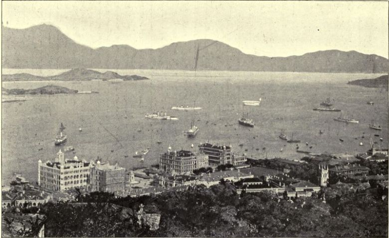 Victoria Harbour Hong Kong colony colonial history British