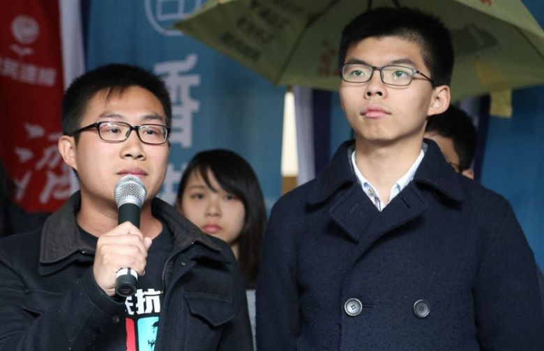 Raphael Wong and Joshua Wong