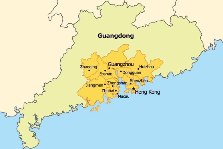 Guangdong-Hong Kong-Macao Bay Area