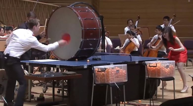 ping pong orchestra china new york