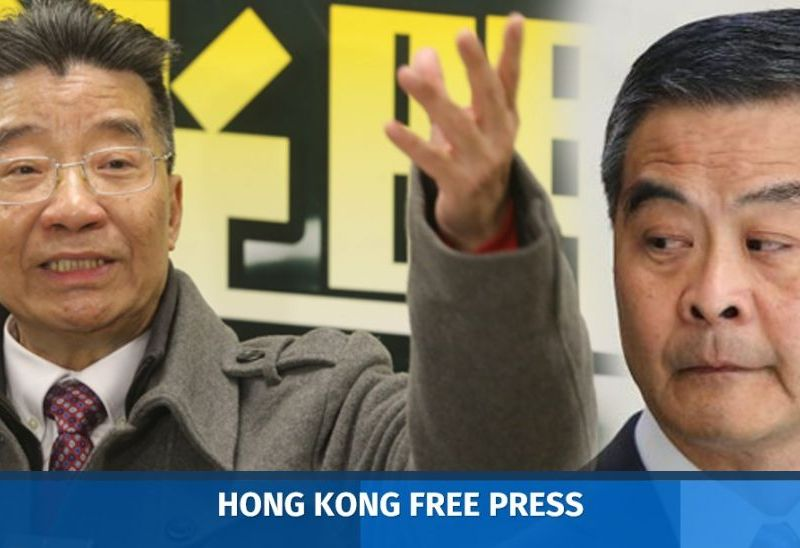 Lew Mon-hung CY Leung