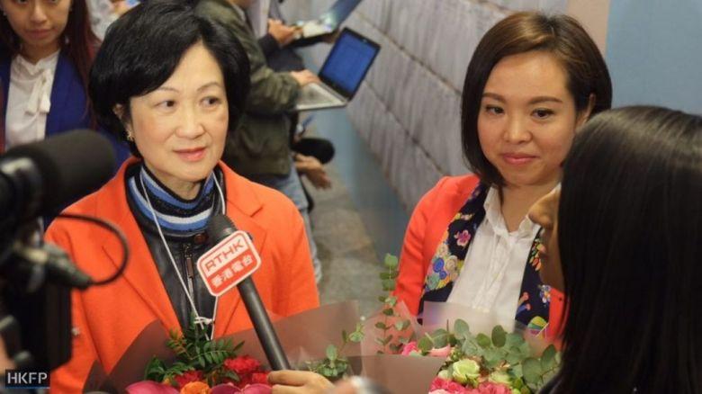 Regina Ip and Judy Chan
