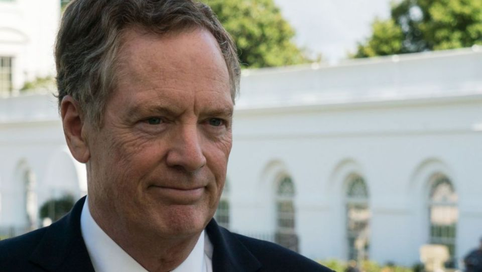 US Trade Representative Robert Lighthizer