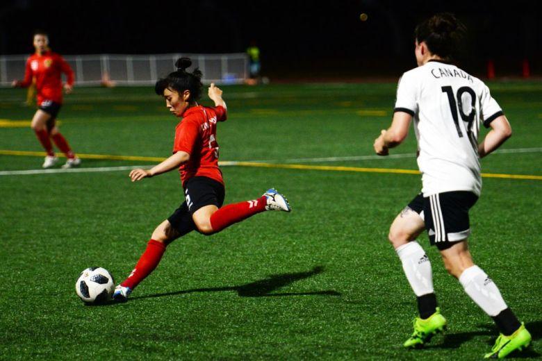 China women's soccer football