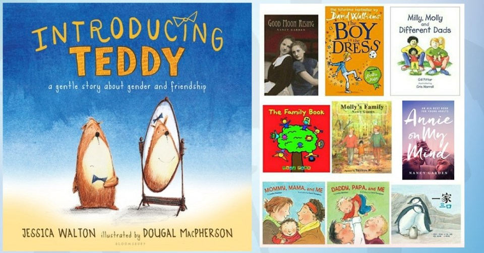 Introducing teddy lgbtq children's books