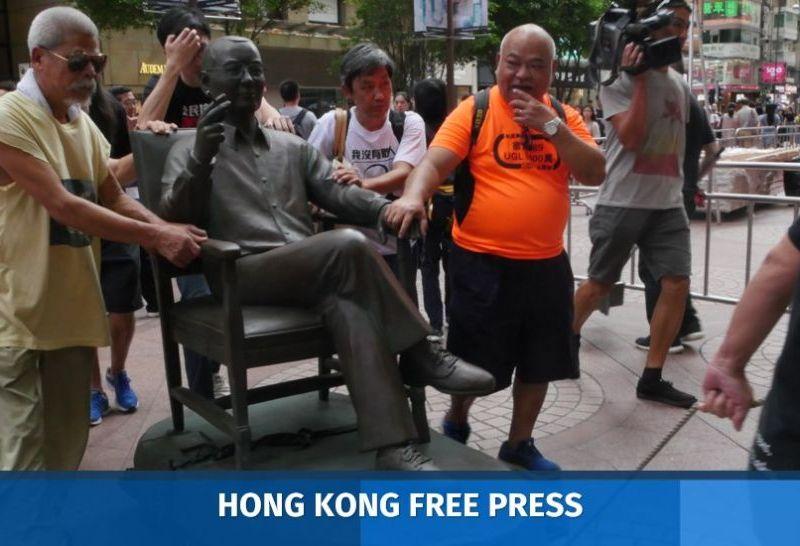 Statue liu xiabo Times Square removal