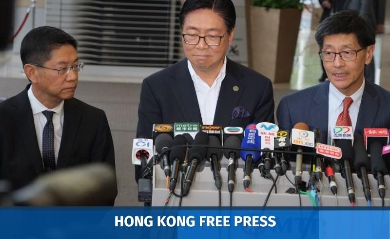 Philco Wong, Frederick Ma, Lincoln Leong