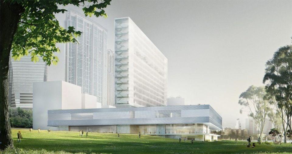M+ building