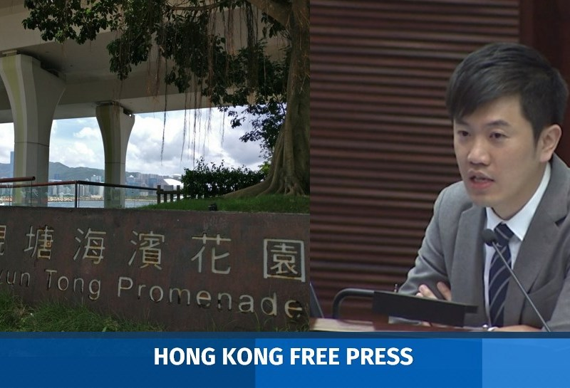 Kwun Tong Wan Chai Signature Project Scheme musical fountain legco