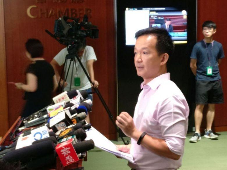 Lawmaker Ray Chan Chi-chuen. Photo: Holmes Chan/HKFP.
