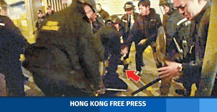 ming pao reporter assault mong kok
