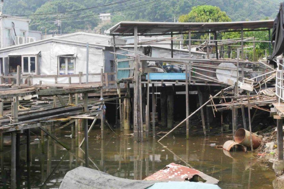 Tai O super typhoon mangkhut