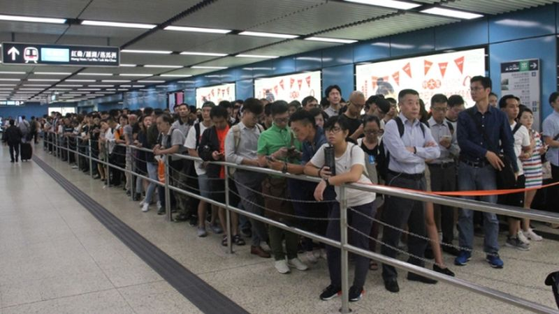 MTR Hong Kong signal issue delays