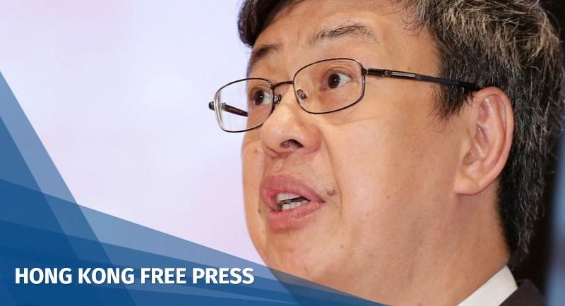 Taiwan Vice President Chen Chien-jen