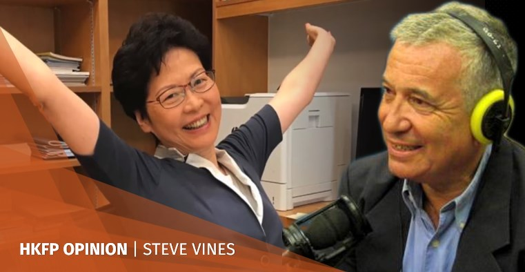 carrie lam victor mallet