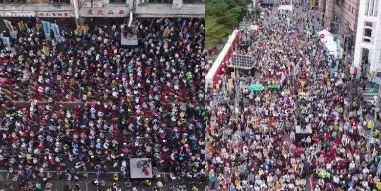 taiwan independence rally