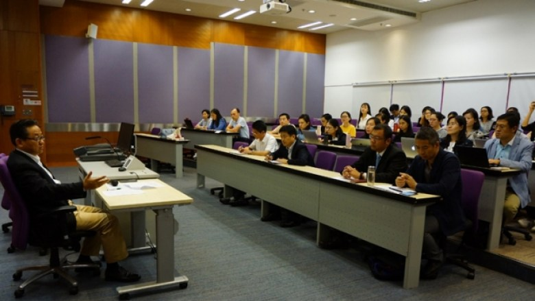 Communist Party branch meeting City University of Hong Kong