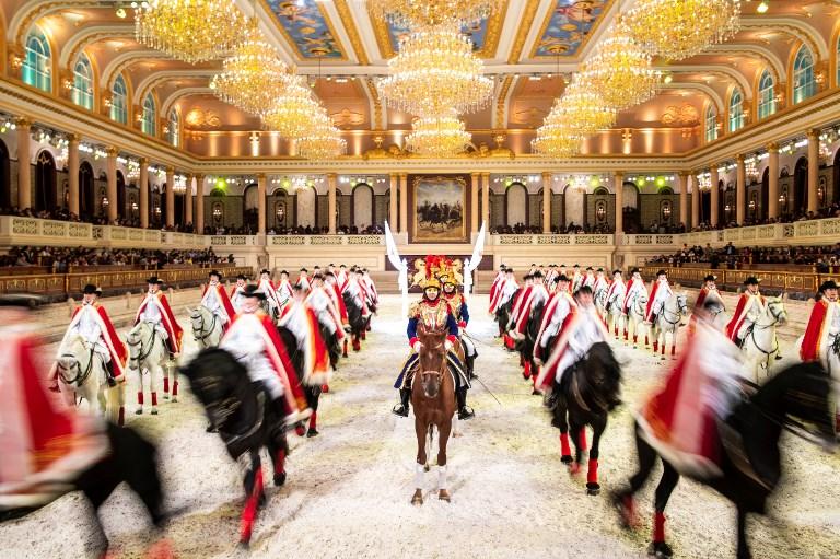 China horse riding club