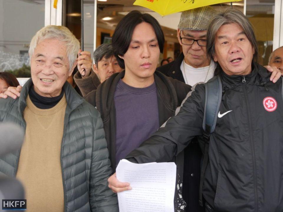 Long hair Leung Kwok-hung, Hendrick Lui, Kwok cheuk-kin