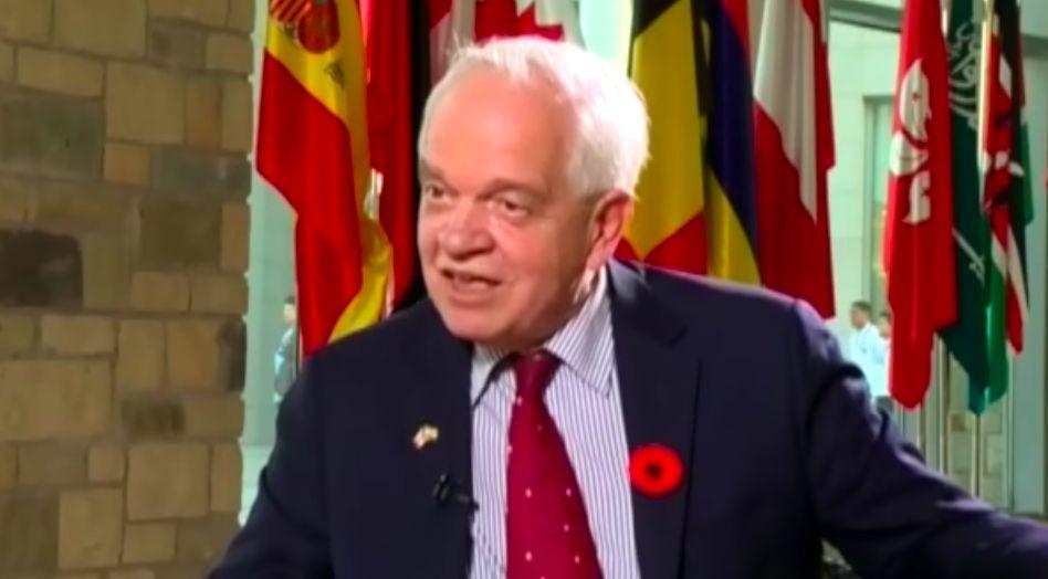 Canadian ambassador China John McCallum