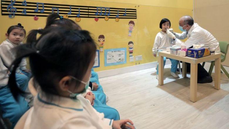 Flu vaccination kindergarten