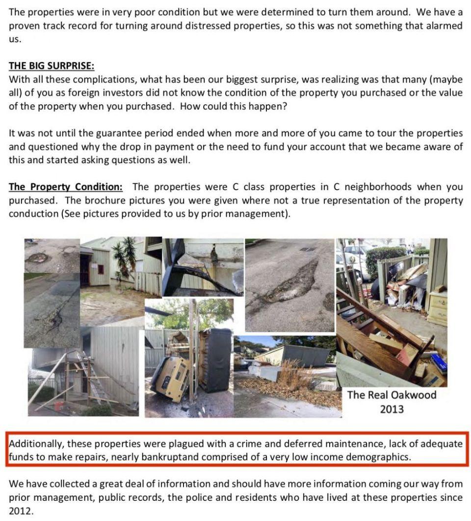 Premier Capital property scam