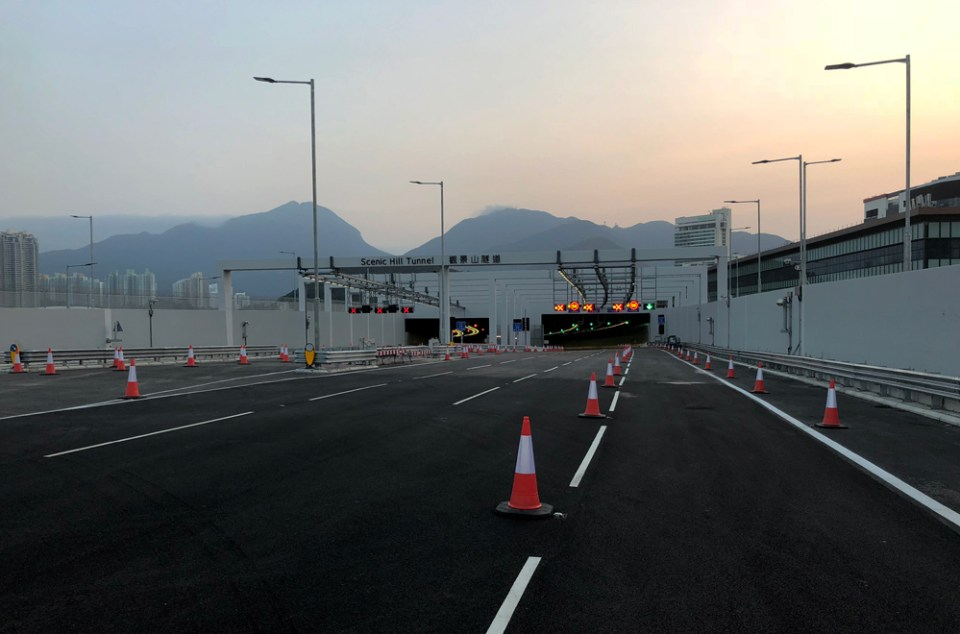 Hong Kong Link Road Hong Kong-Zhuhai-Macao Bridge