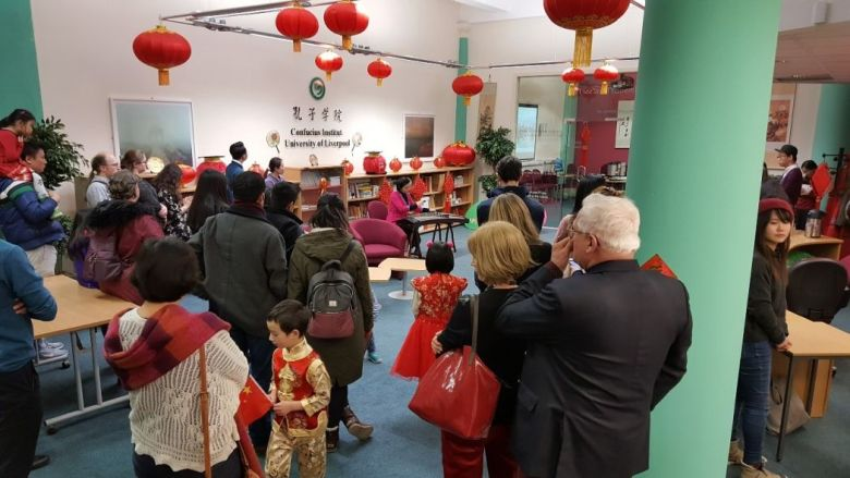 Chinese New Year Celebration Liverpool Confucius Institute