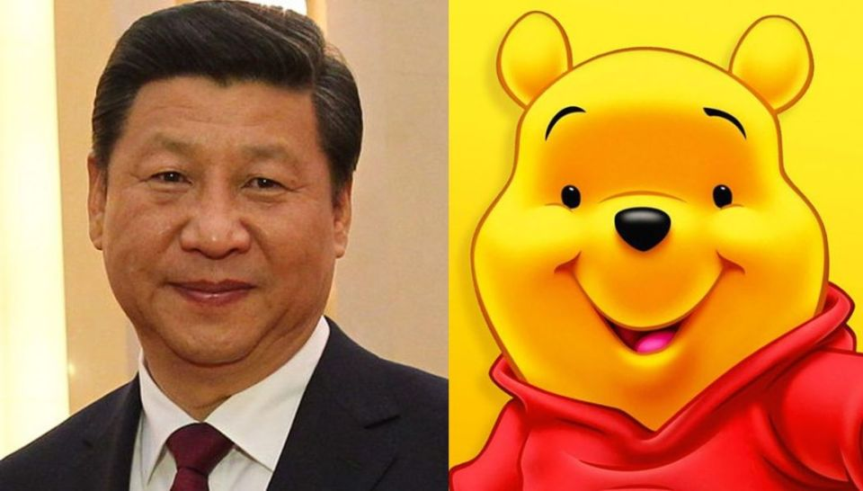 Xi Jinping and Winnie the Pooh