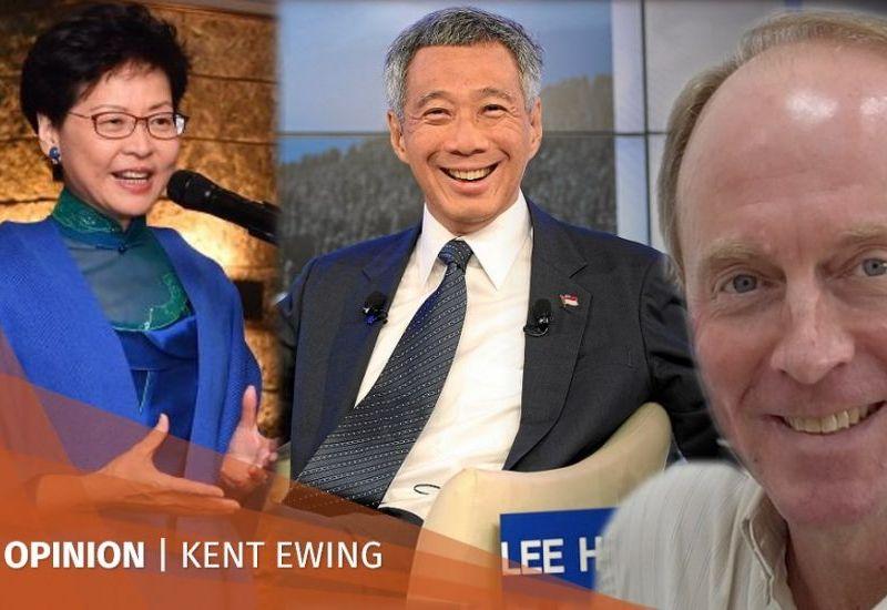 Carrie Lam Lee Hsien Loong