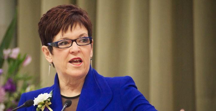 Former New Zealand prime minister Jenny Shipley