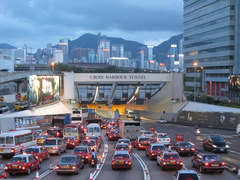 Cross-Harbour Tunnel congestion