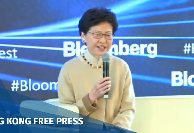 Carrie Lam bloomberg