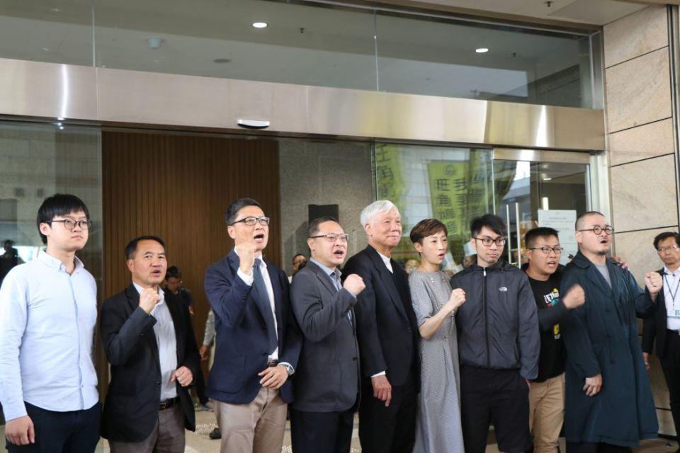 umbrella movement activist court