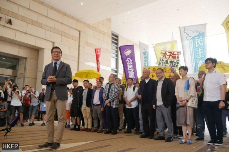 Chan Kin-man umbrella movement court