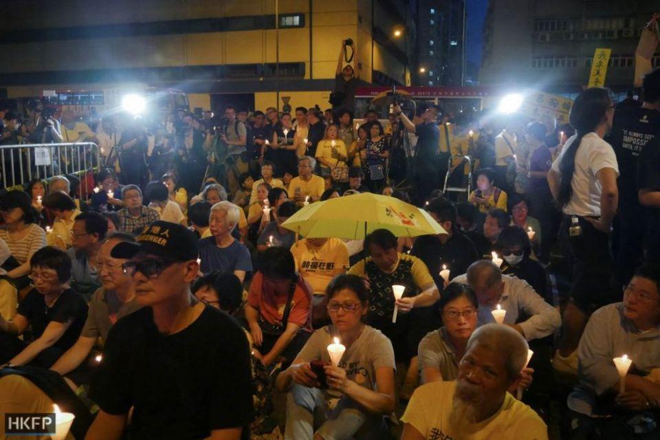 Occupy nine candelight