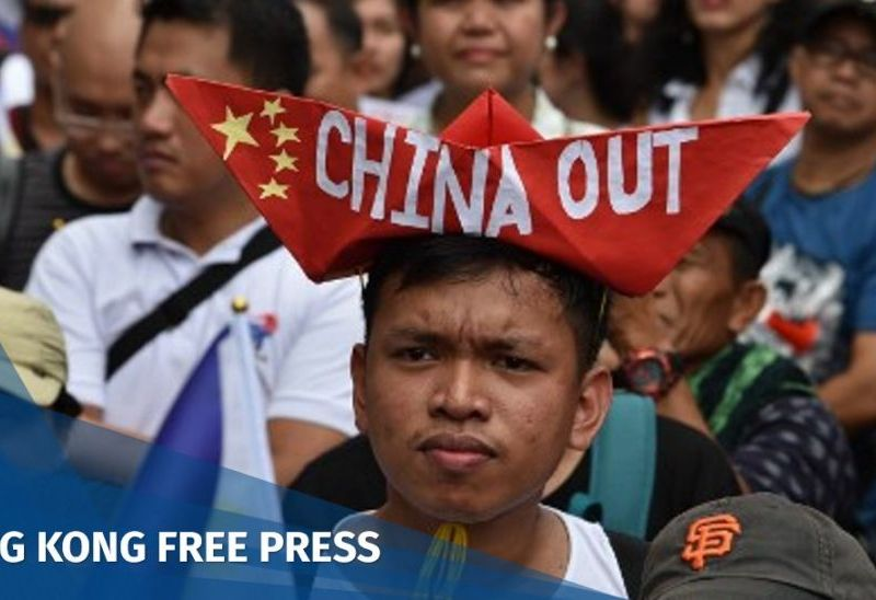 Philippines protest China